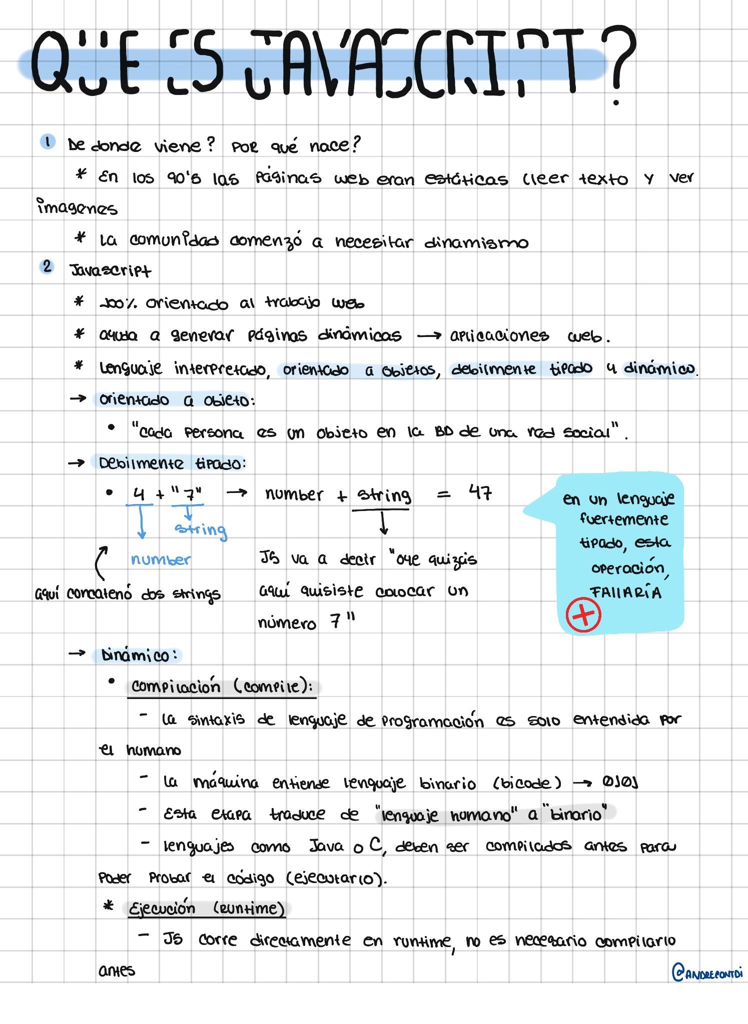 ¿Qué es JavaScript? - P1