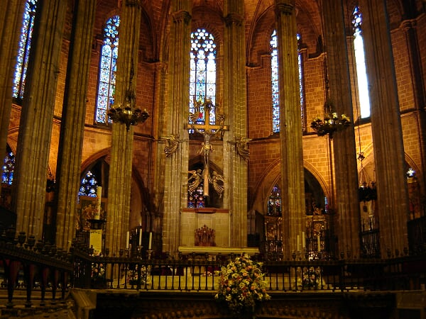 Cathedral de Barcelona - Interior 28