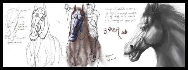 horse_head armture design