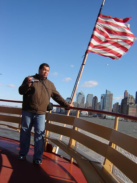 Ferry Boat to Liberty Island 6