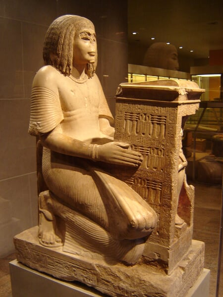 MET - Egyptian Art - Statue of Yuny - 1290 B.C. a