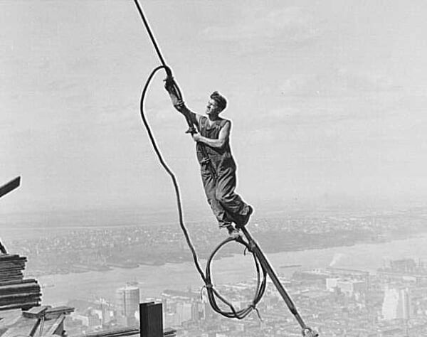 Empire State Building - Construcction 1