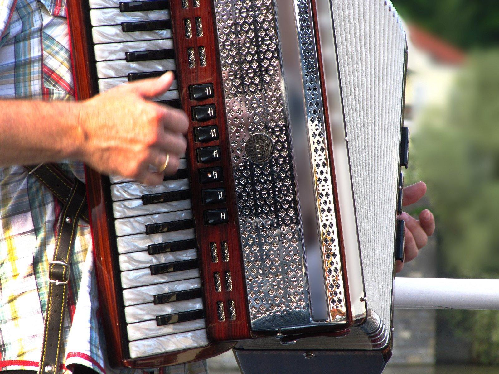 Akkordeonspieler