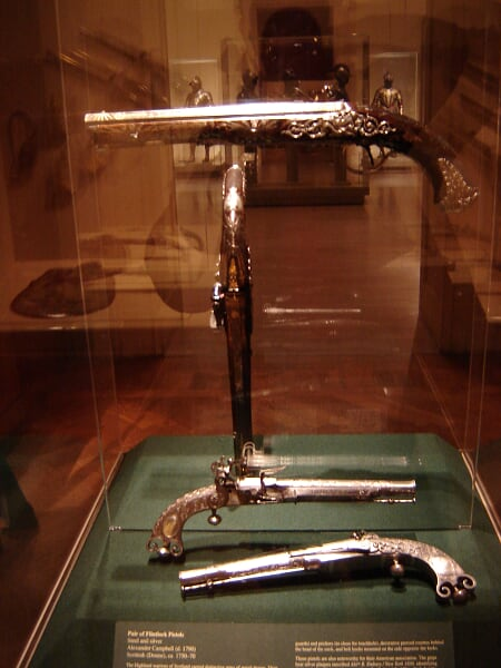 Arms and Armors - Scottish Flintlock Pistols, 1790